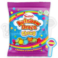 1 x 135g Swizzels Rainbow Drops Chews | BARGAIN Vegetarian Sweets | BB: 18/01/22