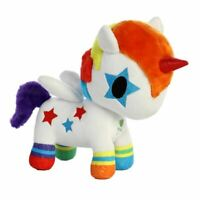 "Tokidoki Bowie Unicorno Plush Soft Toy Rainbow Unicorn - 8"" Aurora"