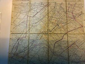 carta topografica Ist.geografico militare Sant'Agostino Buonacompra dosso San C