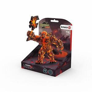 Schleich Eldrador Creatures 42447 Lava Golem w/ Weapon 20933