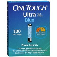 One Touch Ultra Blue Test Strips, 100ct 353885009713A12508