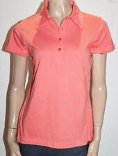 RIVERS Brand Orange Short Sleeve Polo Shirt Top Size 10/S BNWT #SC69