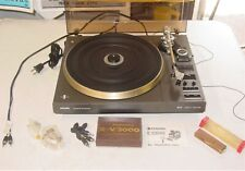 New listing Vintage Philips 877 Super Electronic Direct Control Turntable Works- Plus Extras