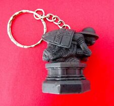 Harry Potter Custom Keychain - Black Pawn from Wizard's Chess