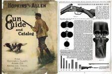 Hopkins & Allen late 1907 Gun Guide and Catalog