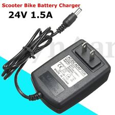 24V 1.5A Scooter Bike Battery Adapter Charger For Razor E100 E125 E500S PR200