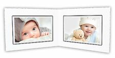 Cardboard Photo Folder For Double 6x4 Photo (Pack of 50) GS003 White Color