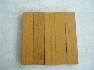 Reclaimed Vintage 60s Solid Oak Parquet Wood Flooring 5 Fingers 11.5cm x 11.5cm