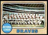 1968 Topps Team Atlanta Braves #221