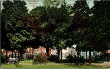 1910. CENTRAL PARK, GALESBURG, ILL. POSTCARD ZT4
