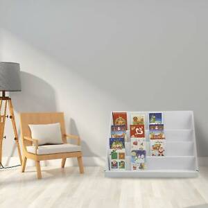 2PCS Bookcase Storage Book Rack Kids Shelf Children Bedroom Playroom Bookshelf