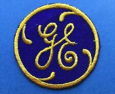 Rare Vintage G E General Electric Employee Uniform Jacket Hat Patch Crest A