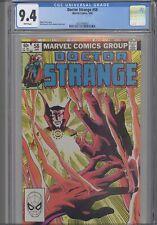 Doctor Strange #58 CGC 9.4 1983 Marvel Comic Roger Stern Story: New Frame