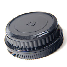 Camera Body + Rear Lens Cap for Pentax K mount PK K20D K10D K200D K100 MA