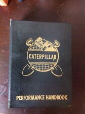 CAT CATERPILLAR PERFORMANCE HANDBOOK PRE 1ST EDITION