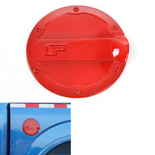 For Ford F150 2015-2016 Gas Door Cover Fuel Tank Oil Cap Decoration Trim ABS Red
