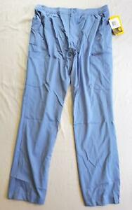Carhartt Men's Liberty Slim Fit Straight Leg Scrub Pants BF5 Blue Medium NWT