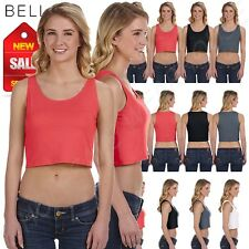 NEW Bella Canvas Women's Poly Cotton Crop Tank M-6680