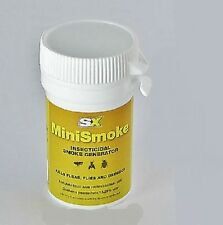 SMOKE GENERATOR x 2 FOR BED BUGS, FLIES, FLEAS, MOTHS AND OTHER INSECTS