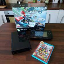 Nintendo Wii U Console 32gb In Original Box Boxed Bundle
