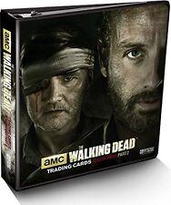 Walking Dead Season 3 Part 2 Binder Factory Sealed  w Wardrobe M52 card
