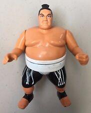 WWF HASBRO GREEN CARD YOKOUNA Loose Used WWE Wrestling Figure