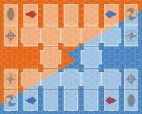 Yugioh TCG 2-player Playmat - Neo Master Rule DIY Game Mat Mousepad Neoprene