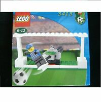 LEGO SPORTS Tormann KEEPER 3413 FOOTBALL Torwart ab 6 Jahren NEU OVP