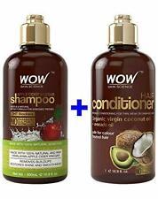 WOW Apple Cider Vinegar Shampoo and Conditioner Kit (2 x 16.9 Fl Oz)