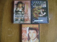 Jackie Chan 3 DVD lot