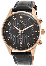 Lucien Piccard Navona GMT Chronograph Mens Watch 11187-RG-01