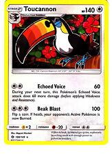 Toucannon 108/149 RARE Pokemon TCG Sun & Moon Single Card