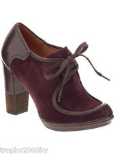 NEW ANTHROPOLOGIE MINDY OXFORDS BOOTIE SHOES HEELS BY NAYA SZ 7.5