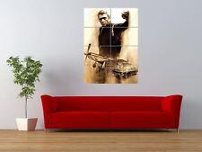 STEVE MCQUEEN LEGEND HOLLYWOOD STAR ACTOR GIANT ART PRINT PANEL POSTER NOR0181