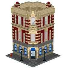 LEGO Historic Corner Building Custom Instructions Modular CD