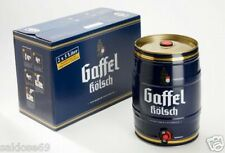 2 x 5,0L Gaffel Kölsch Partyfass Fass Bier Fass Partyfass 5 Liter