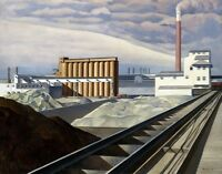 Classic Landscape Painting by Charles Sheeler Art Reproduction
