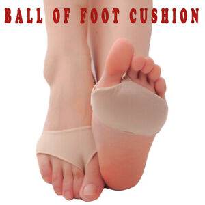 Ball Of Foot Gel Cushions Forefoot Pain Insoles Support Metatarsal Pads Socks