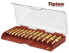 Tipton 13 Piece 8x 32 Threaded Brass Cleaning Jag Set with Case  # 749245 * New!