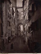 Photo Albuminé Alfredo Noack Gênes Genova Italie vers 1870/80