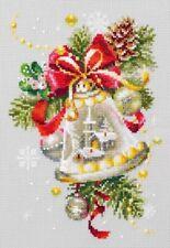 Counted Cross Stitch Kit MAGIC NEEDLE 100-232 - Christmas bell