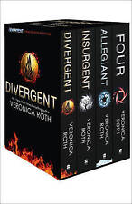 Divergent Series Box Set  By Veronica Roth Paperback Free Shipping