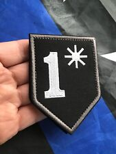 One Asterisk 1* Police SWAT Military Firefighter Embroider Hk/Lp Patch