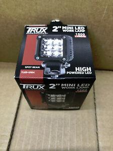 "1500 LUMENS TRUX 2"" MINI LED WORK LAMP TLED-U104 12-24V 18W"
