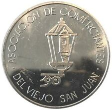 ASOCIACION COMERCIANTES VIEJO SAN JUAN Parking Alloy Dollar PUERTO RICO Transit