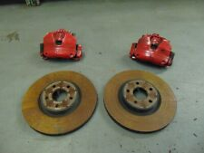 ford focus brake calipers + carrier brackets st250 + discs pair of front 2011-17