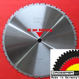 Lames de Scie Circulaire Carbure 600x35mm Z40 35mm Perçage Dent Rechange Neuf