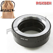 Roxsen M42 Screw Lens to Samsung NX Camera Mount Adapter NX1 NX10 NX1000 NX210
