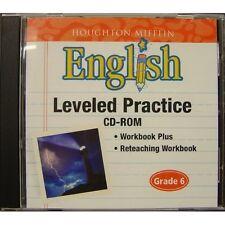 Houghton Mifflin English: Leveled Practice Cd-Rom Grade 6 Children: Reading