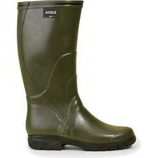 Aigle Tancar Pro Mens Womens Wide fit Green Wellies Wellington Boots Size 4-12